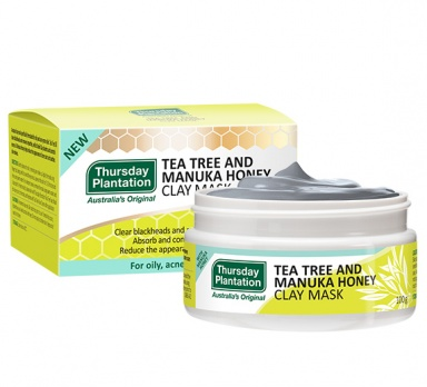 tea tree and manuka honey clay mask product