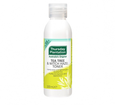 tea tree & witch hazel toner product image