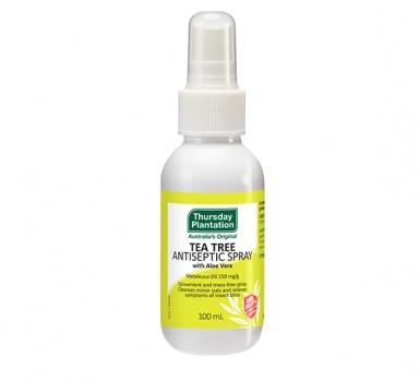 tea tree antiseptic spray product image