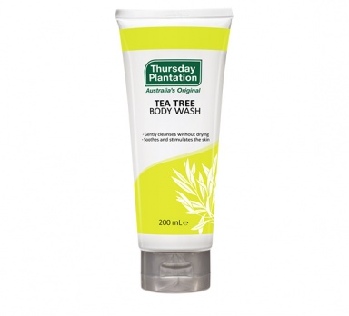 tea tree body wash product image
