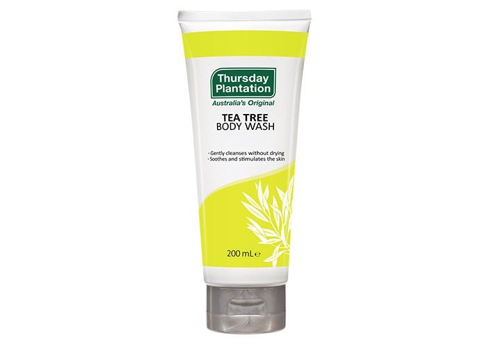 tea tree body wash product image