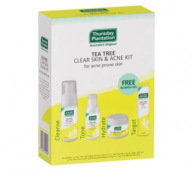 tea tree clear skin & acne kit product image