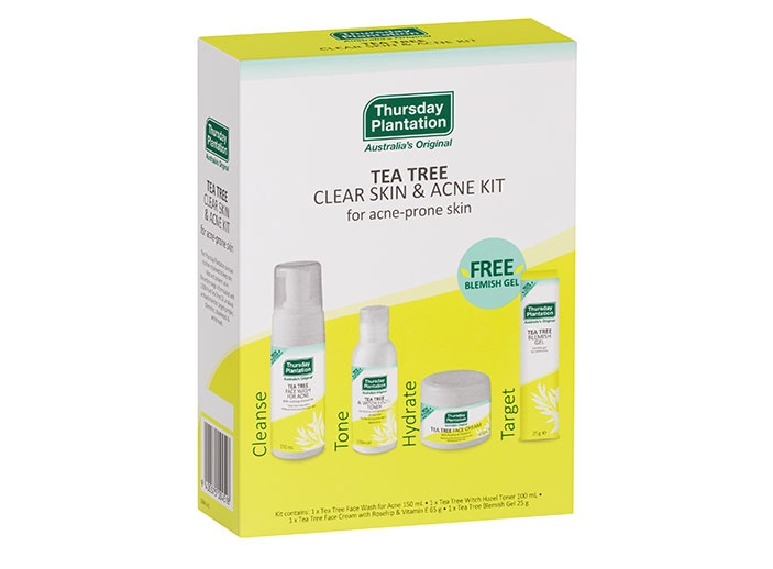 tea tree clear skin & acne kit product image