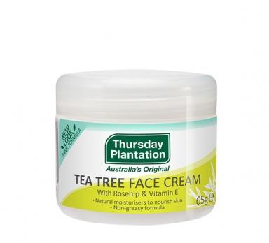 tea tree face cream product image