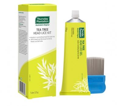 tea tree head lice kit product image
